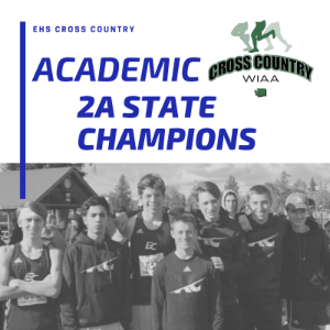 EHS Boys Cross Country - Academic 2A STATE Champions!