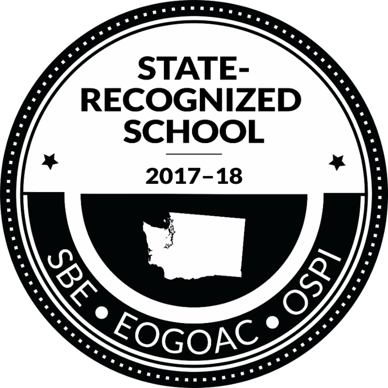 State Recognized School Logo